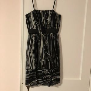 Max And Cleo Strapless Dress Size 4